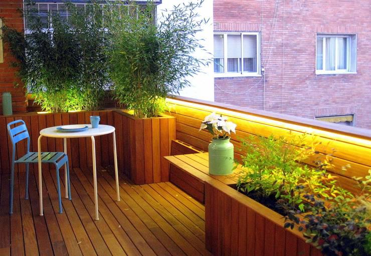 #terrazaDUQUE: Terrazas de estilo  de +2