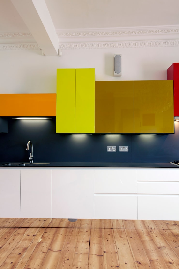 Cocinas de estilo  por Draisci Studio, Moderno