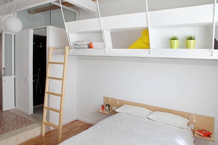 Miel Arquitectos의  침실