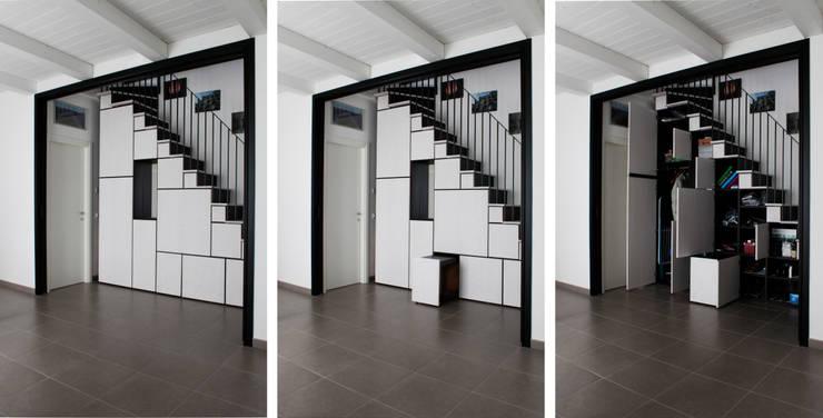 Projekty,  Salon zaprojektowane przez ellevuelle  architetti