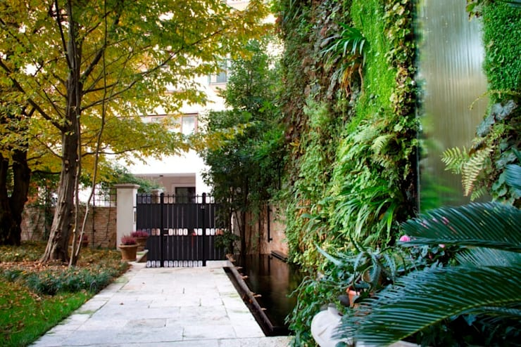 Vertikaler Garten naturaleyazarte Treviso:  Garten von naturalezayarte
