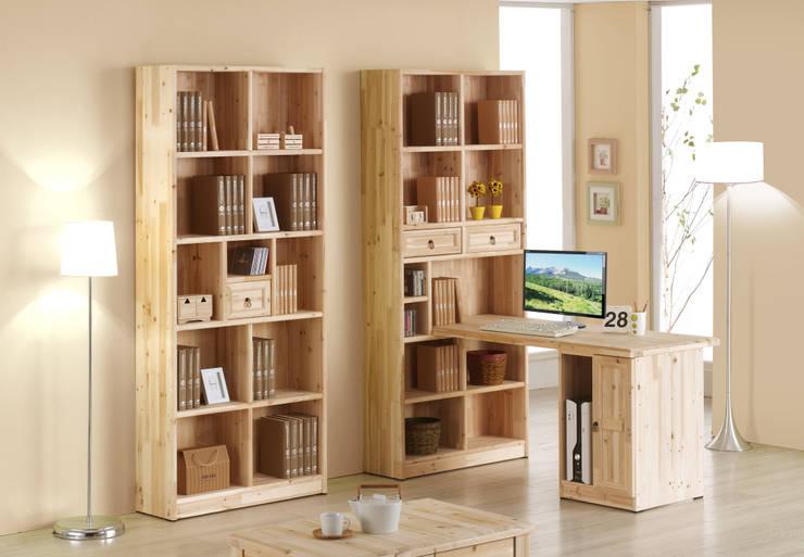 삼나무 원목 h형 3자 책상: 심서방가구의  가정 용품