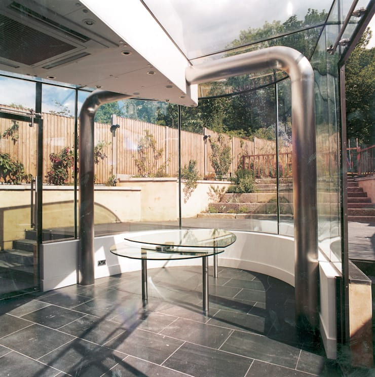 Conservatory:  Houses by BACA Architects