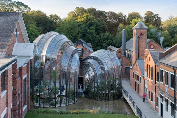 Bombay Sapphire Distillery, Laverstoke Mill:  Bars & clubs by Heatherwick