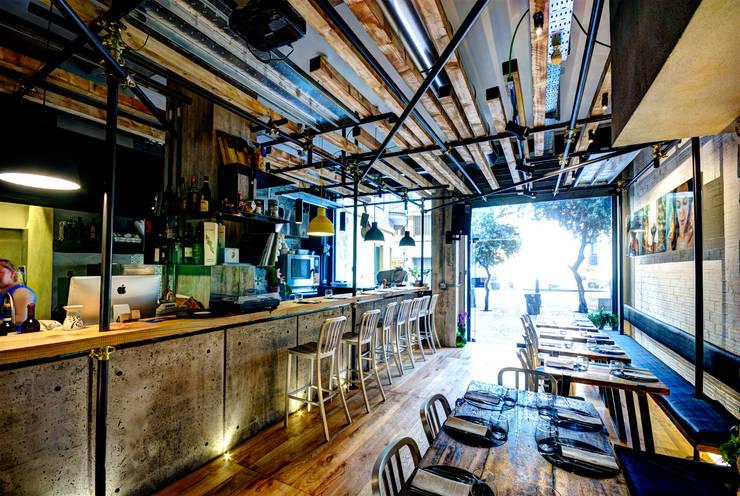 vinile: Gastronomia in stile  di Ghelo Studio, Industrial