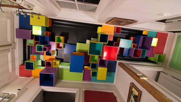plafond Néo-Renaissance.:  de style  par Aurélien de Busscher