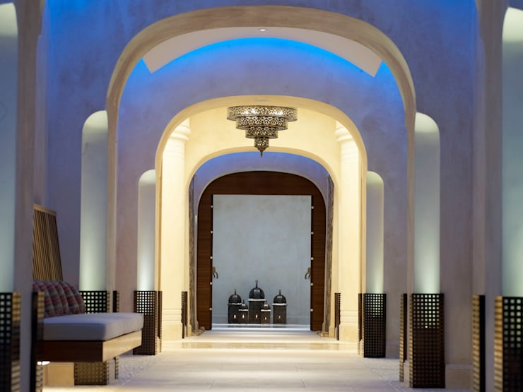Anazoe Spa - corridor:  Hotels by MKV Design