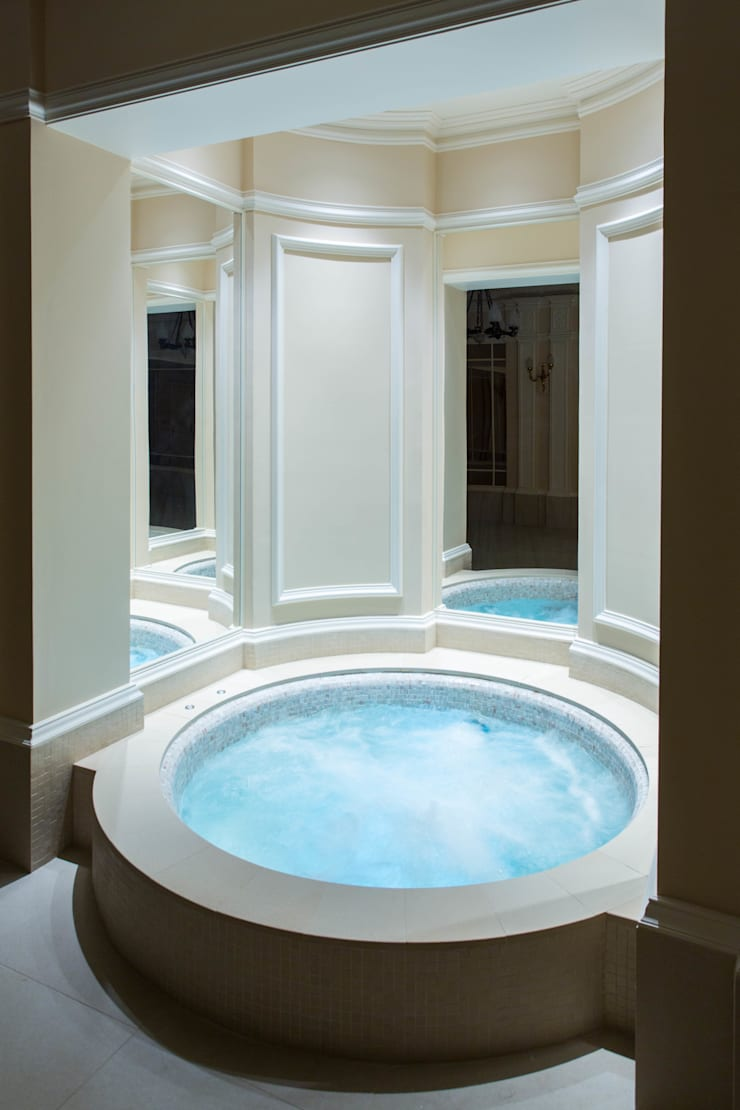 Party in and on the Pool with Moving Floor Pool:  Pool by London Swimming Pool Company