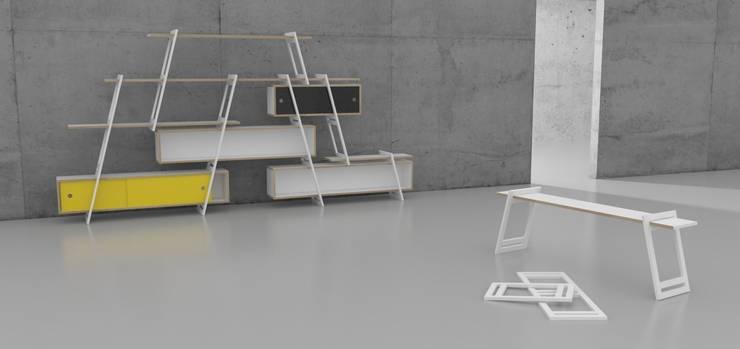 Shelving System:  Haushalt von Studio DLF