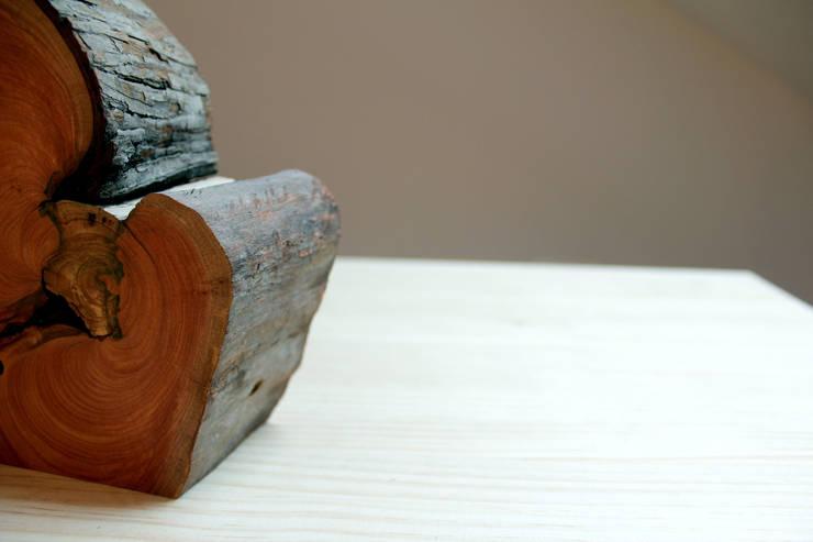 Corbon: Hogar de estilo  de BRZ wood DESIGN