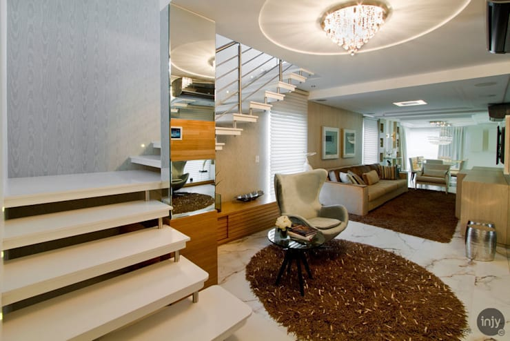 HALL SOCIAL / ESTAR:   por injy Interior Design