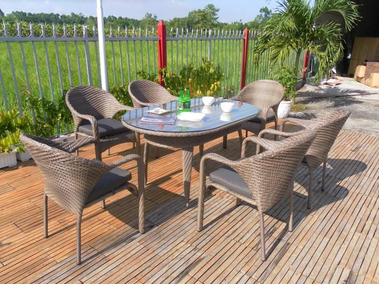 Dining set RADS 012:  Garden  by Sunday Furniture