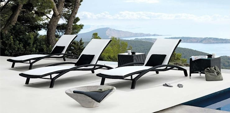 Sunbed RABD 054:  Garden  by Sunday Furniture