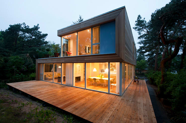 Casas de estilo  por Cubus Projekt GmbH