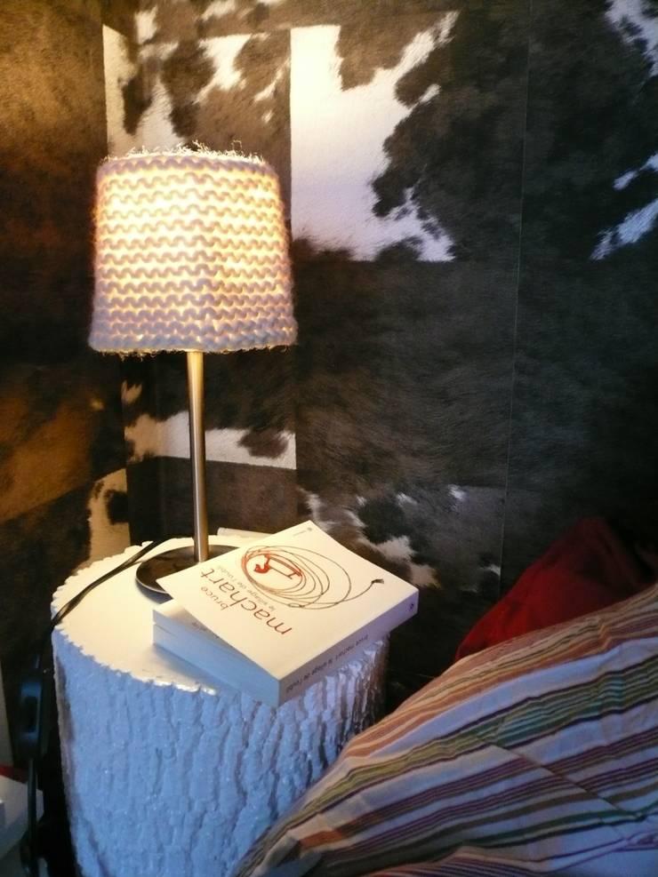 PONCHO, kit abat-jour: Salon de style  par LA MERCERIE DES CREATEURS