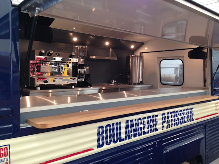 H Van Conversion:   by Tudor Catering Trailers