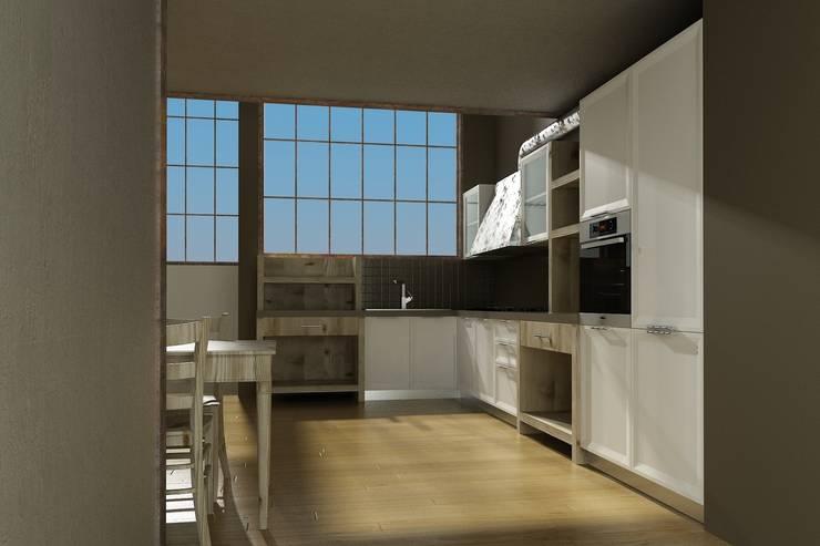 FEBAL CASA : Cucina in stile  di Graphosds