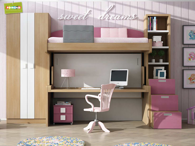 Muebles Parchis. Dormitorios Juveniles. : modern tarz Çocuk Odası