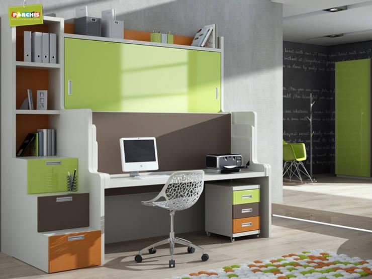 غرفة الأطفال تنفيذ Muebles Parchis. Dormitorios Juveniles.