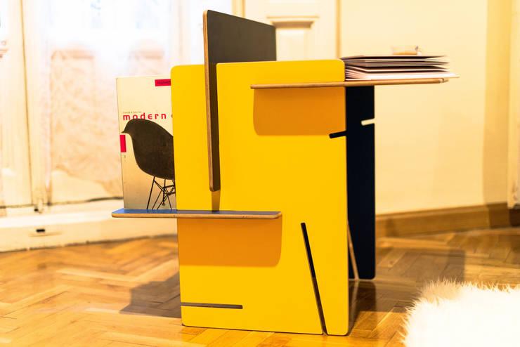 ESSENZA: Salones de estilo  de UNAMO design