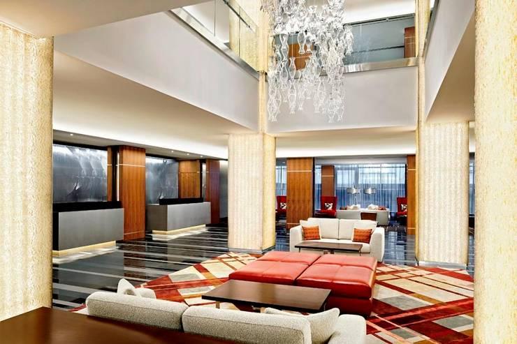 Sheraton Grand Edinburgh - Reception:  Hotels by MKV Design