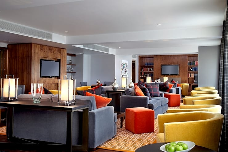 Sheraton Grand Edinburgh - Club Lounge:  Hotels by MKV Design