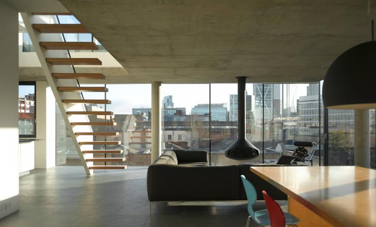 Bateman's Row:  Office buildings by Theis & Khan