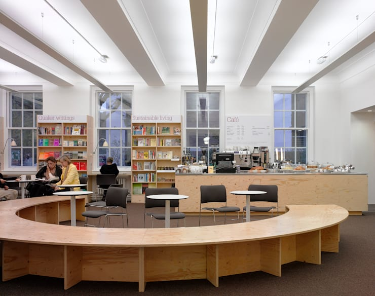 Quakers Centre:   by Theis & Khan