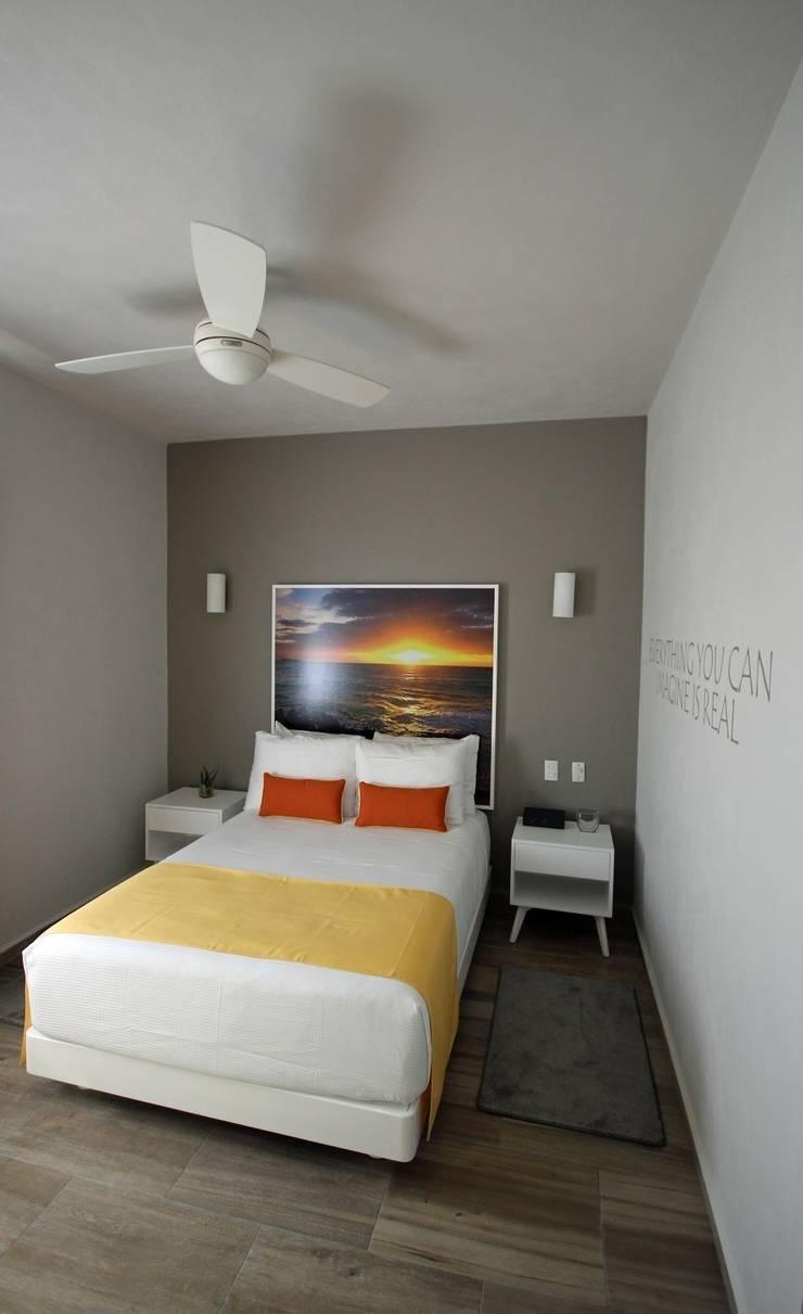 Hotel Azura Tulum: Hoteles de estilo  por axg arquitectos