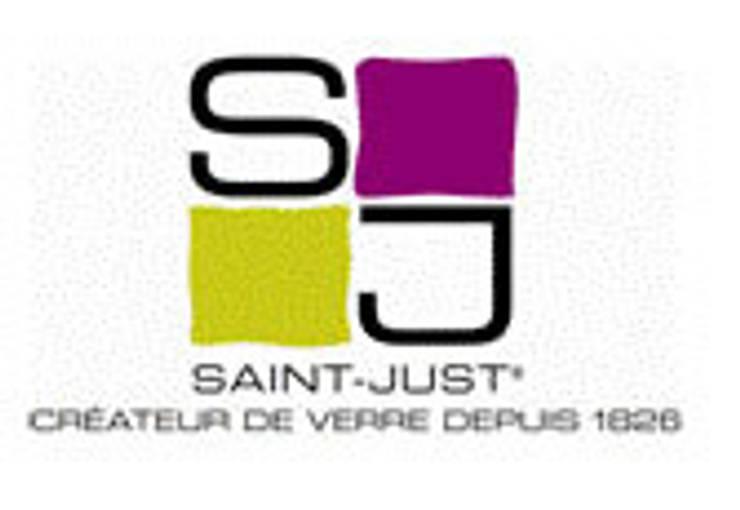 Logo Verrerie de Saint-Just:  de style  par VERRERIE DE SAINT-JUST