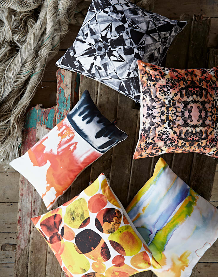 Amy Sia cushions:   by Amy Sia