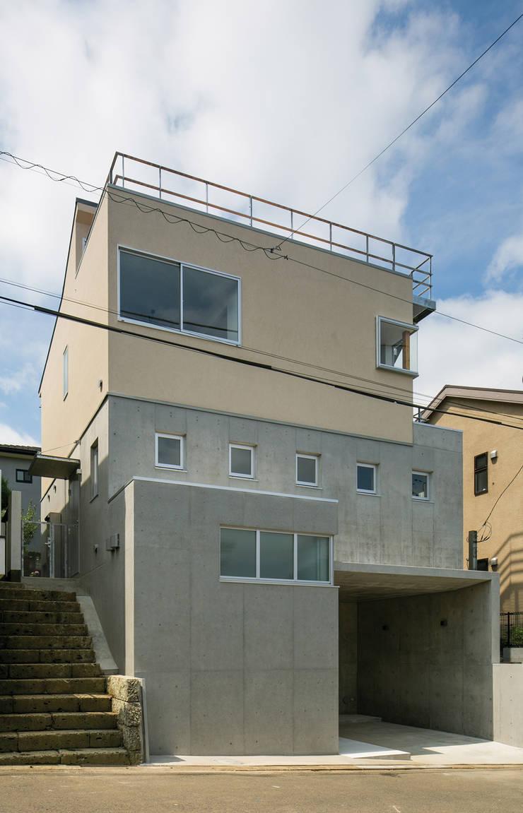 北側外観: 株式会社フォルムス/FORMSが手掛けた家です。