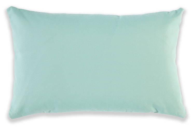 """Designkissen """"ZigZag Green- Turquoise"""": modern  von Anna Wand,Modern"""