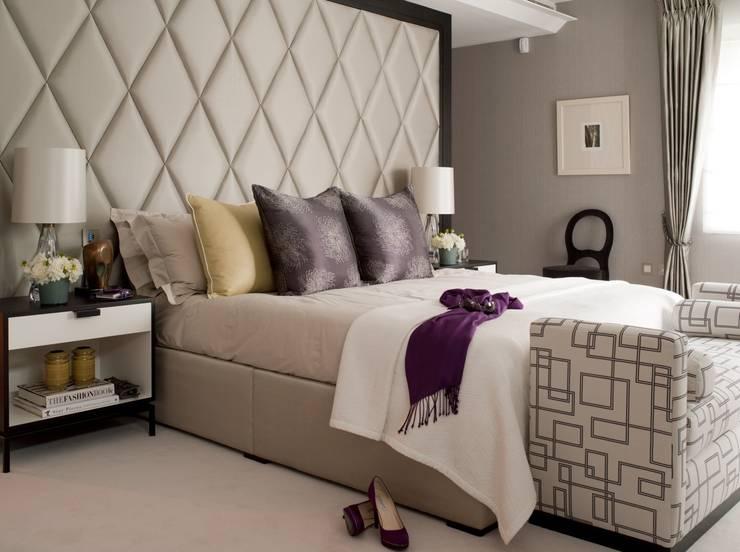Master bedroom:   by Taylor Howes Design