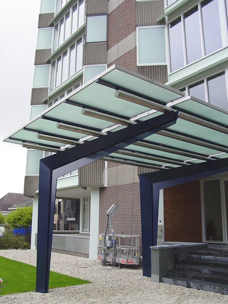 renovatie kantoorpand:  Kantoorgebouwen door Linea architecten