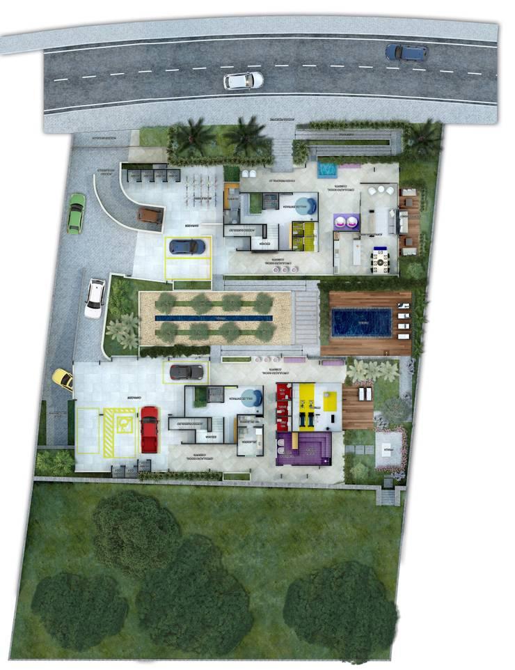 Jardín Jurerê:   por Espaço Livre Arquitetura