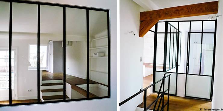 Appartement privé de 222 m².:  de style  par Agence Florence Rigon