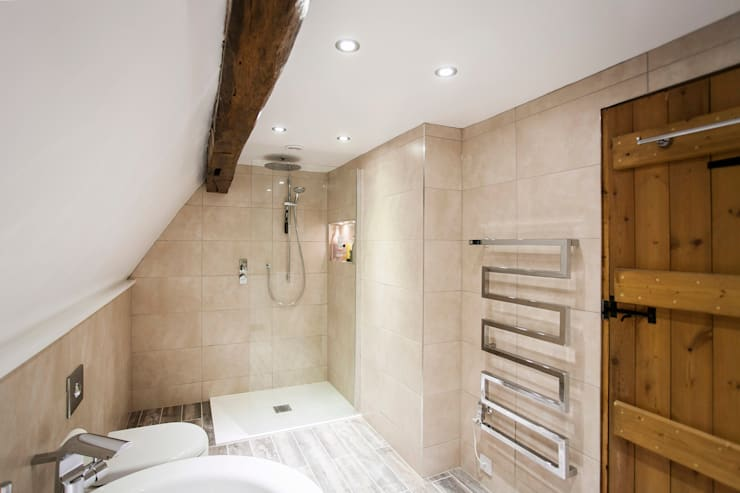 Blissful Bathroom Design from Burlanes Interiors: modern Bathroom by Burlanes Interiors