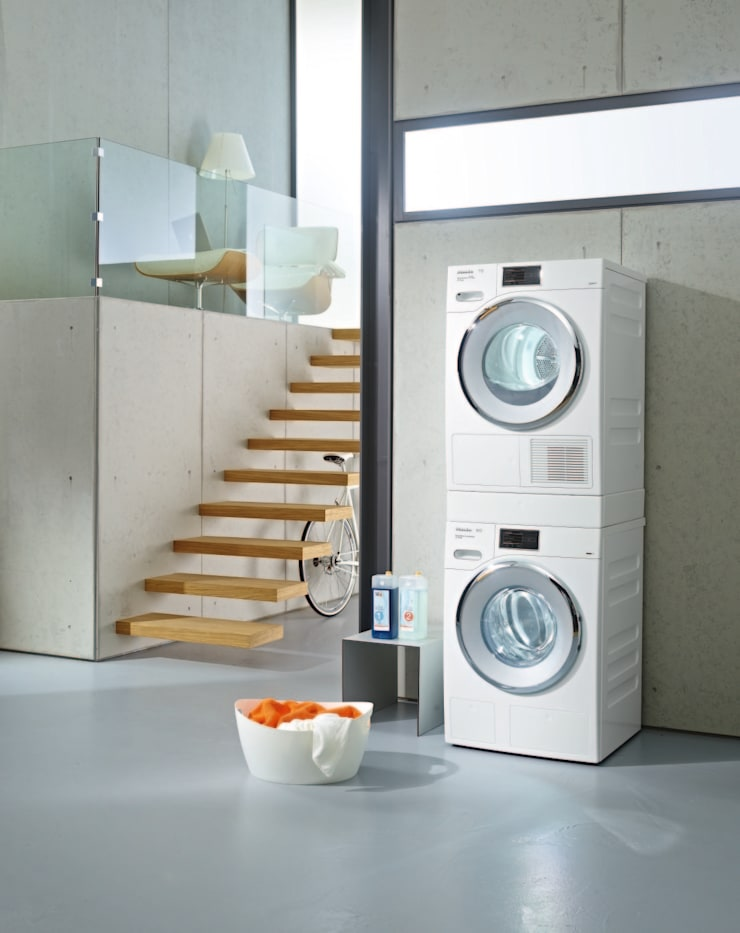 Waschmaschine W1 und Trockner T1 von Miele & Cie. KG | homify