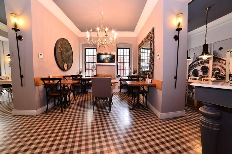 Karosiman Desenli Yer Karoları – KAROSİMAN TİLE / ODDA HOTEL:  tarz İç Dekorasyon