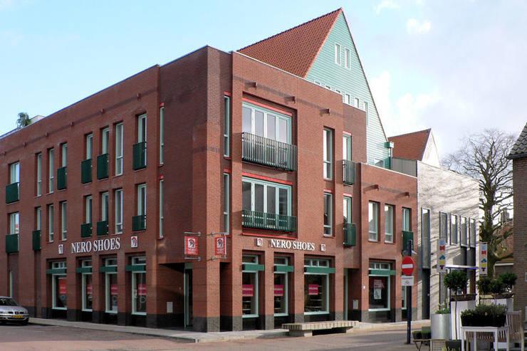 appartementen in Aalsmeer:  Huizen door PHOENIX, architectuur en stedebouw