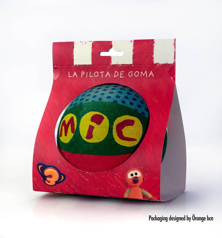 Diseño de packaging para la pelota de MIC: Estudio de estilo  de Orange BCN