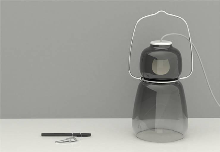 Lampe Balade: Maison de style  par Néhémy Goguely