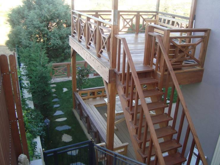 Emre Ticaret – A.G villası, Zekariyaköy:  tarz İç Dekorasyon,
