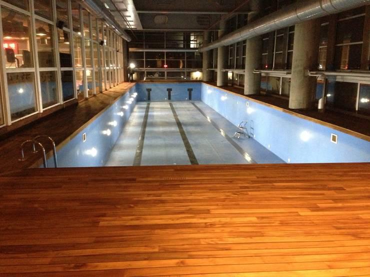 Emre Ticaret – MAC spor salonları, KANYON: modern tarz Duvar & Zemin