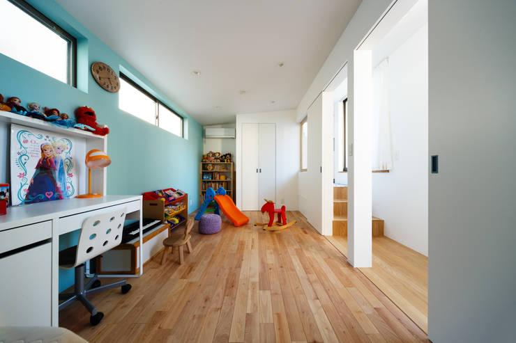 haus-wave: 一級建築士事務所hausが手掛けた子供部屋です。