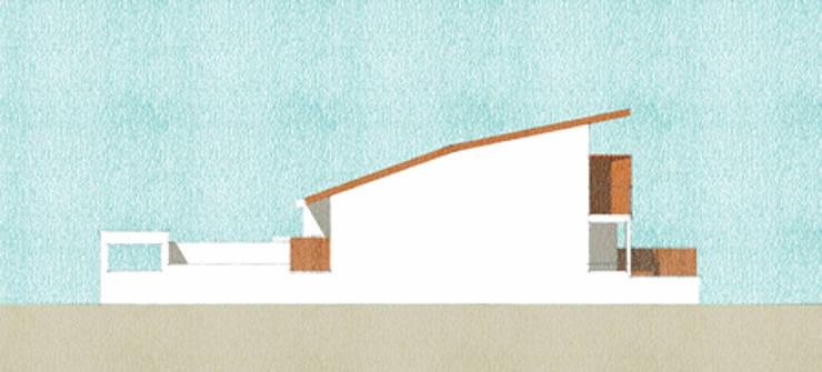 Casas de estilo  de ISIT ARCHITECTURE, Moderno