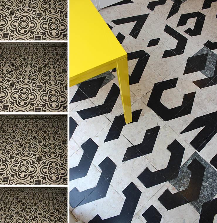 Cowork in Grenoble - Espace Coworking: Bureaux de style  par ISIT ARCHITECTURE