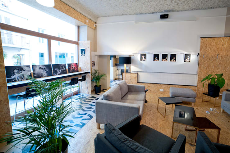Exposition Collective - Cowork in Grenoble: Art de style  par ISIT ARCHITECTURE