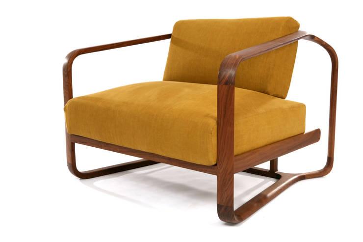 SWING (lounge chair): KIMKIWON furniture의  거실